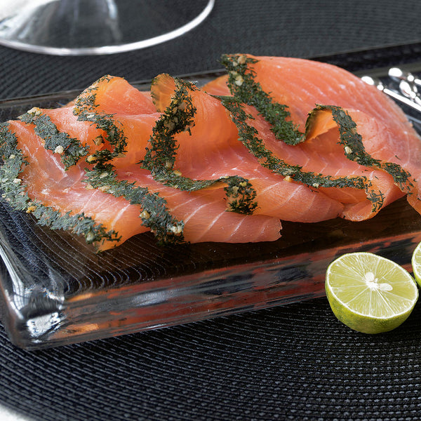 Smoked Fish - Gravlax Style Smoked Salmon