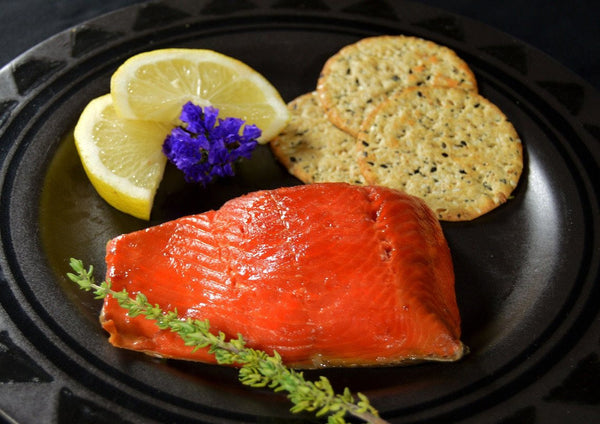 Wild Hot Smoked Sockeye Salmon