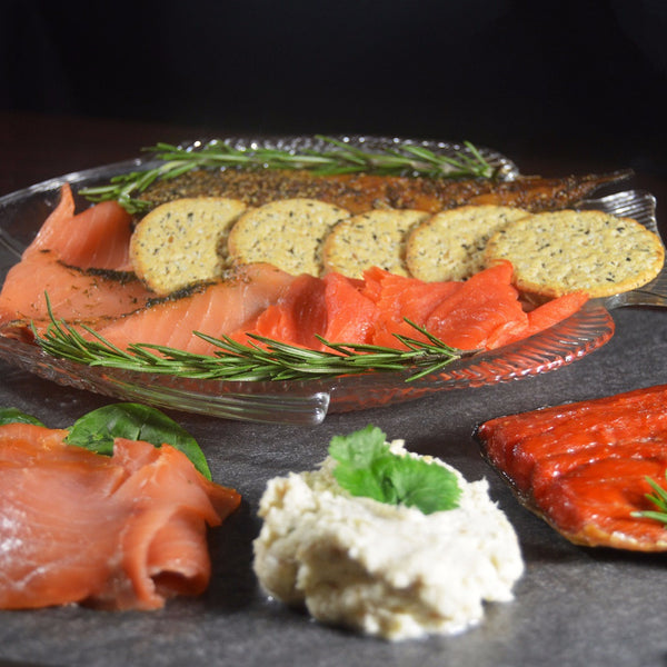 Smoked Fish Smorgasbord - Smoked Salmon & Mackerel