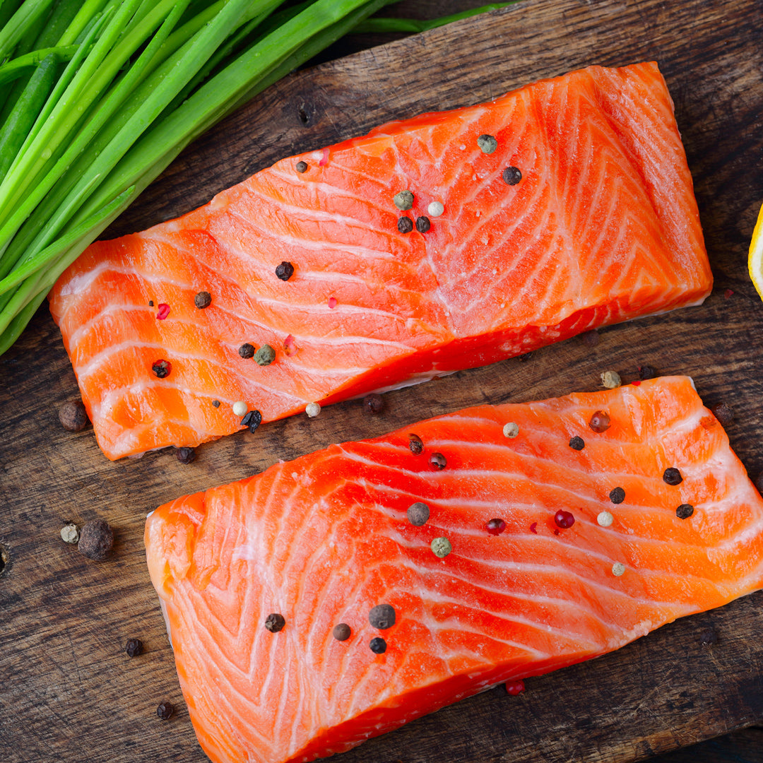 Wild Alaska King Salmon Fillet