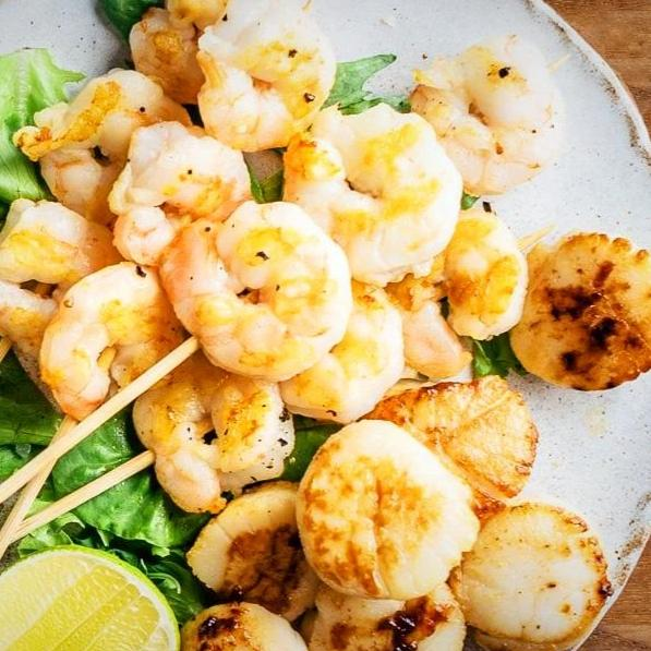 Wild Gulf Shrimp & Sea Scallops Super Bowl Party Pack