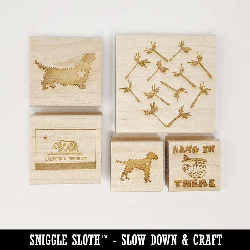 Dream Catcher Square Rubber Stamp for Stamping Crafting 2.75in Large