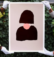 JEAN JULLIEN -  Limited Edition Silkscreen print 'MOM' 2019