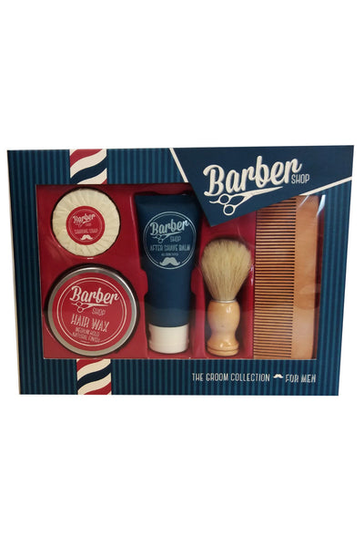 5tlg Bartpflege Set Geschenk Set Bart Wachs Kamm Hair Wax After shave Balm