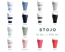 Load image into Gallery viewer, Stojo: Collapsible Cup แก้วน้ำพับได้ - 16 Oz