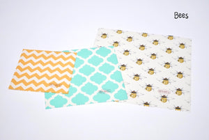 Triple Bees: Beeswax Wrap - แรปขี้ผึ้ง