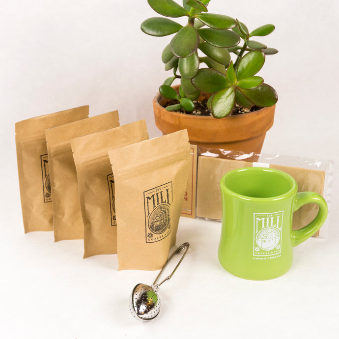 Stay at home tea kit - relax and enjoy!