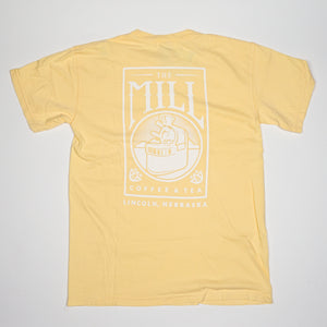 Short Sleeve Shirt - Logo w/ Pocket in Butter