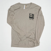 "Load image into Gallery viewer, Long Sleeve Shirt - ""See Your Way"" in Stone"