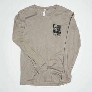 "Long Sleeve Shirt - ""See Your Way"" in Stone"