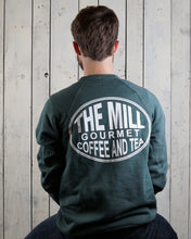 Load image into Gallery viewer, Long Sleeve Pullover Sweatshirt - Oval Logo in Forest