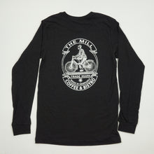 Load image into Gallery viewer, Long Sleeve Shirt - Cyclist Logo in Black
