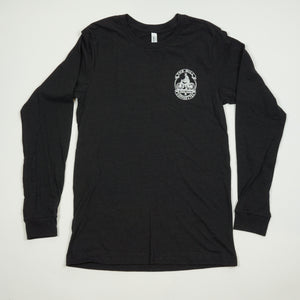 Long Sleeve Shirt - Cyclist Logo in Black