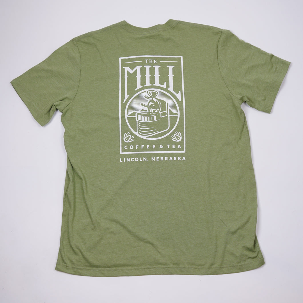 Short Sleeve Light Olive Logo T-Shirt