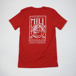 Short Sleeve Red Logo T-Shirt