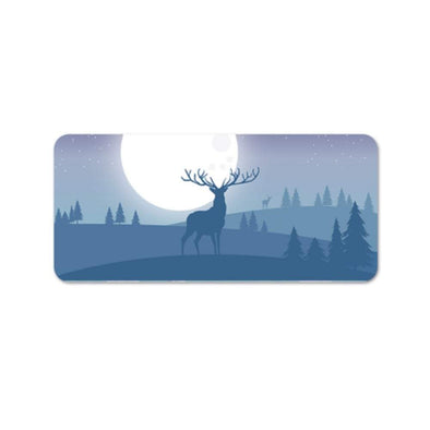 Deer Moon Desk Mat
