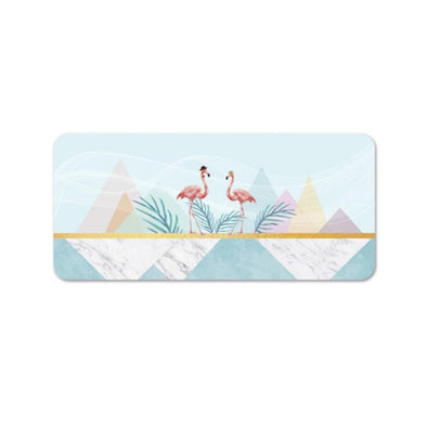 Flamingo Time Desk Mat