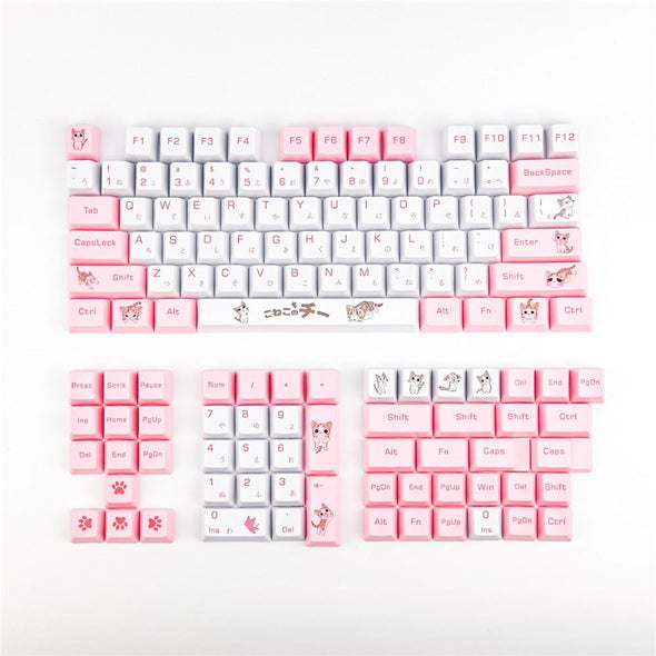 Alley Cat Japanese Keycaps