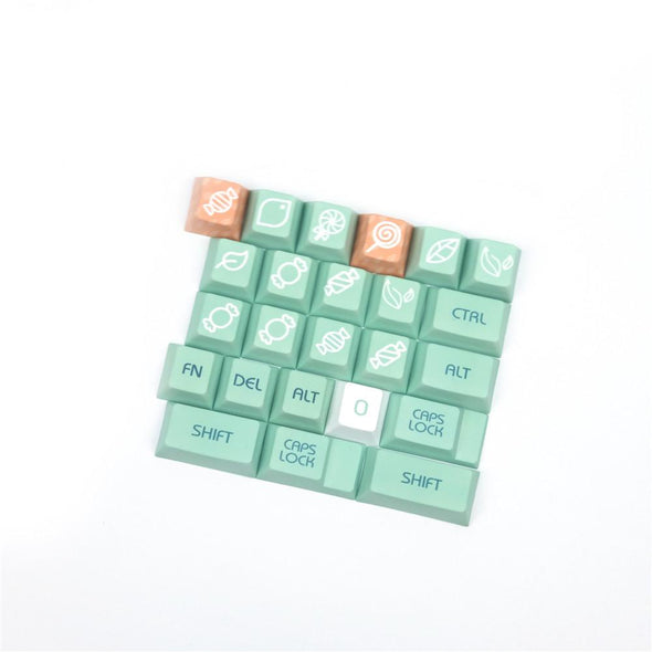 Minty Fresh Green Keycaps