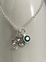 Luck Of The Irish Birthstone Necklace