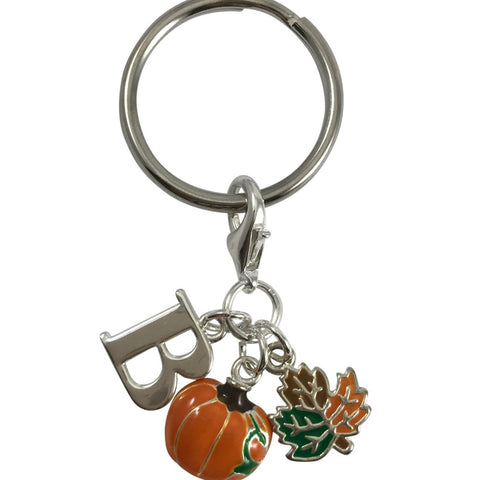Personalized Fall Keychain