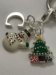 Personalized Christmas Keychain