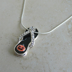 Halloween Flip Flop Necklace