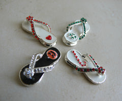 Christmas Flip Flop Necklace