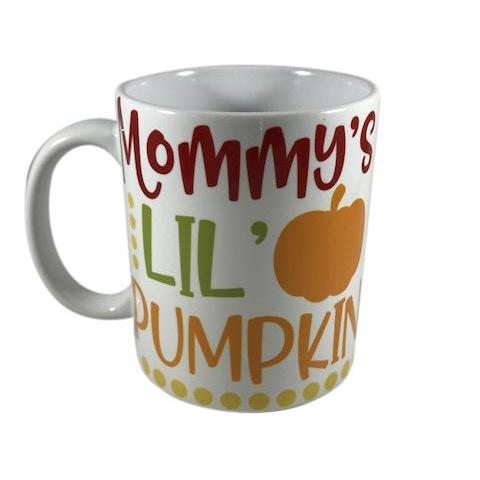 Personalized Mommy's Lil Pumpkins Mug