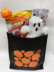 Halloween Basket with Personalized Tumbler