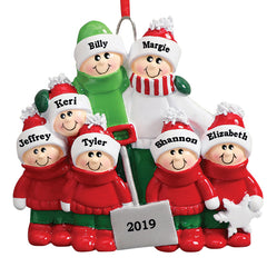 Just Becuzz Family Personalized Ornament