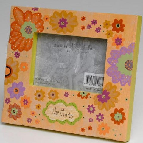 The Girls Wooden Frame