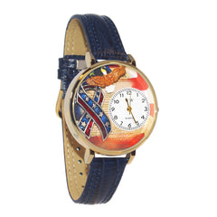 Personalized American Patriotic  Watch