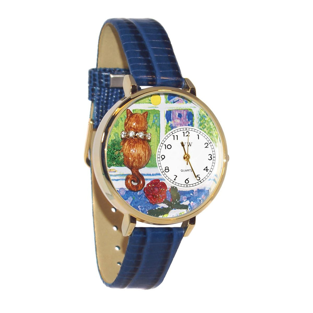 Personalized Cat Watch