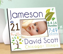 Baby Announcement Picture Frame