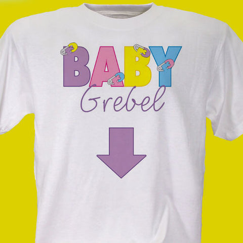 Baby Maternity Personalized T-shirt