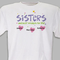 Best Friend Sister T-shirt