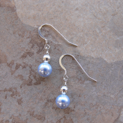 Swarovski Pearl Birthstone Earrings