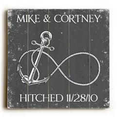 Custom Infinity Anchor Sign