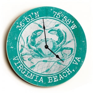 Custom Coordinates Crab Clock