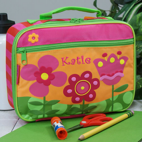 Embroidered Flower Lunch Box