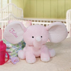 Embroidered Plush Elephant
