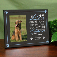Forever Love Pet Remembrance Frame