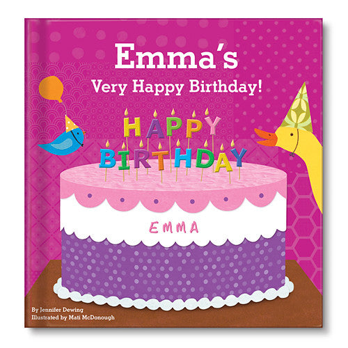 My Very Happy Birthday Personalized Book for Boys and Girls