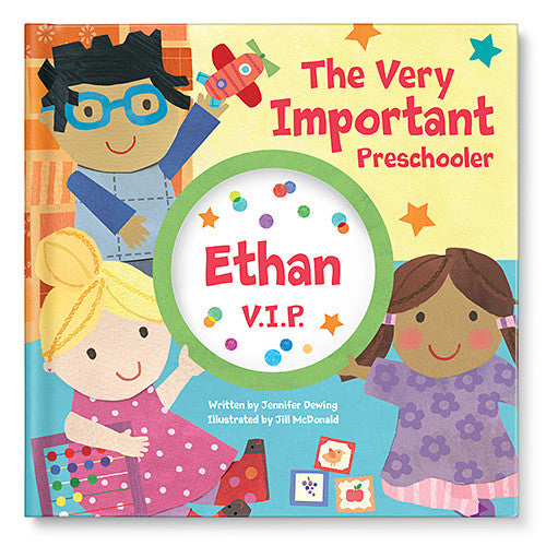 The Very Important Preschooler Personalized Storybook