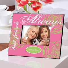 Personalized Forever Friends Friendship Frames