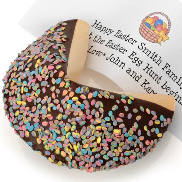 Giant Confetti Easter Egg Gourmet Fortune Cookie