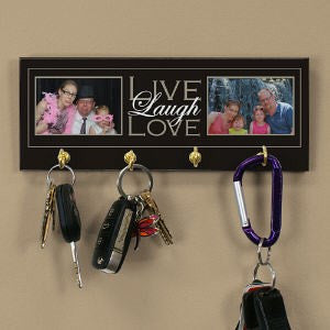 Live, Laugh, Love Photo Key Rack