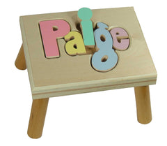 Personalized Name Step Stool
