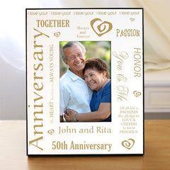 Our Golden Anniversary Printed Frame